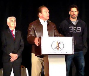 Arnold Schwarzenegger loves Chiropractors